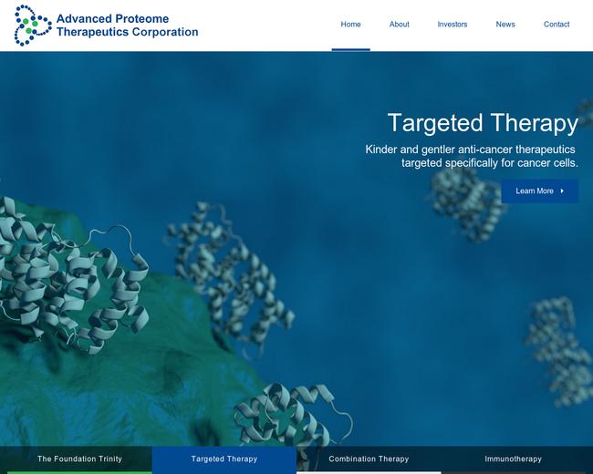 Advanced Proteome Therapeutics