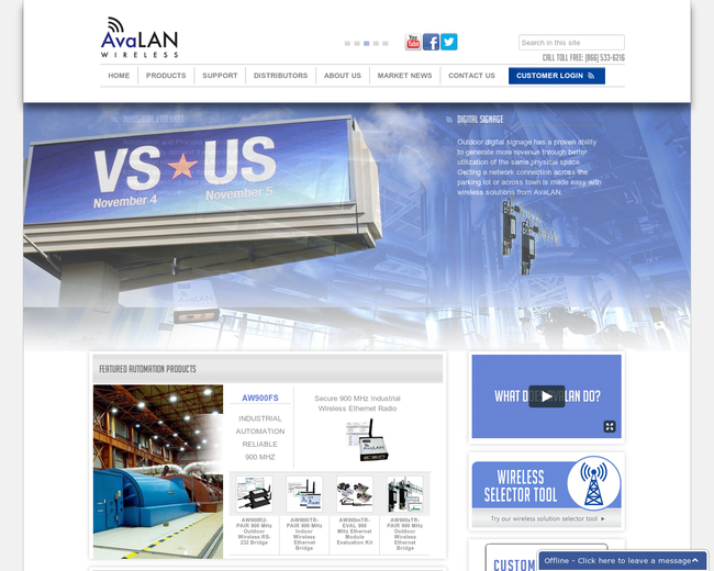 AvaLAN Wireless Systems