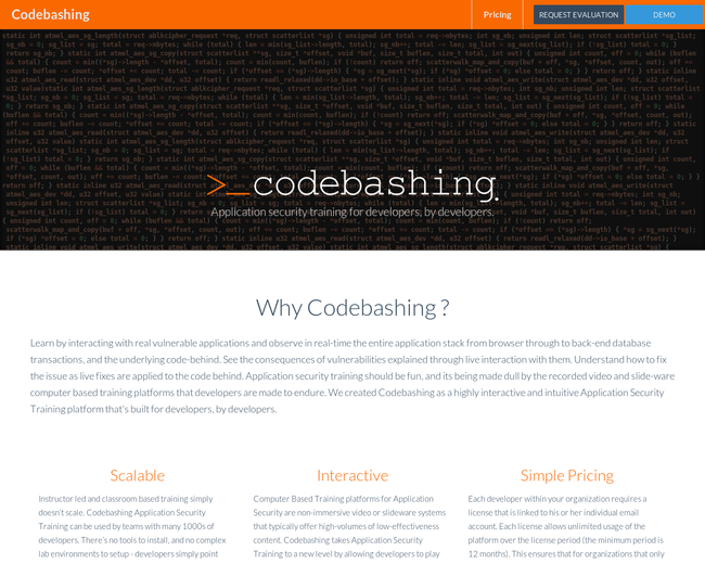 Codebashing