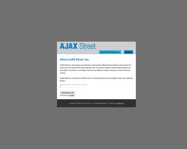AJAX Street