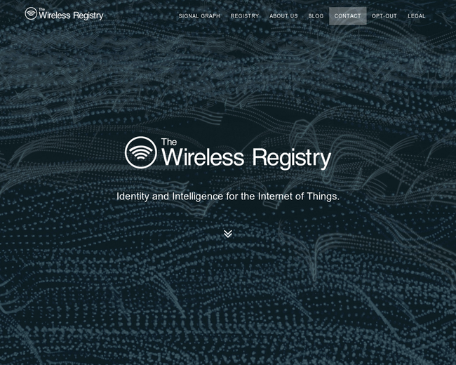 The Wireless Registry
