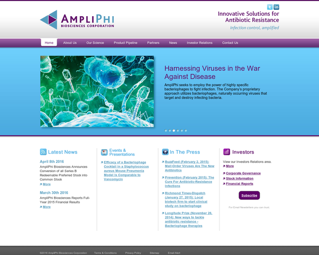 AmpliPhi Biosciences