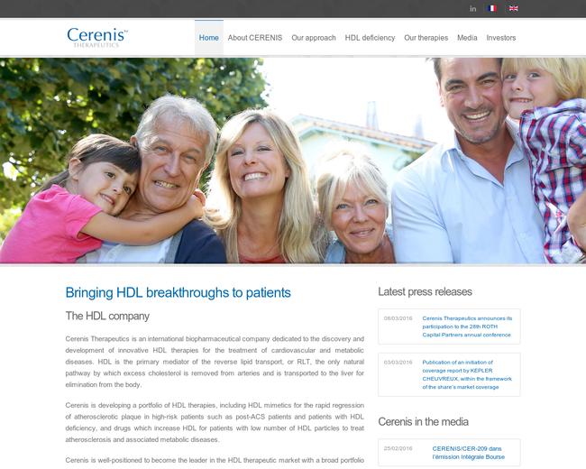 Cerenis Therapeutics