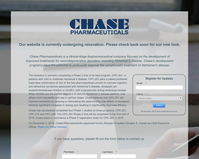 Chase Pharmaceuticals