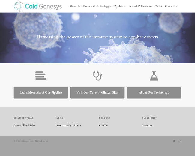 Cold Genesys