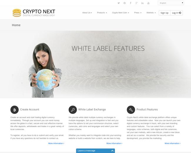 Crypto Next Plc