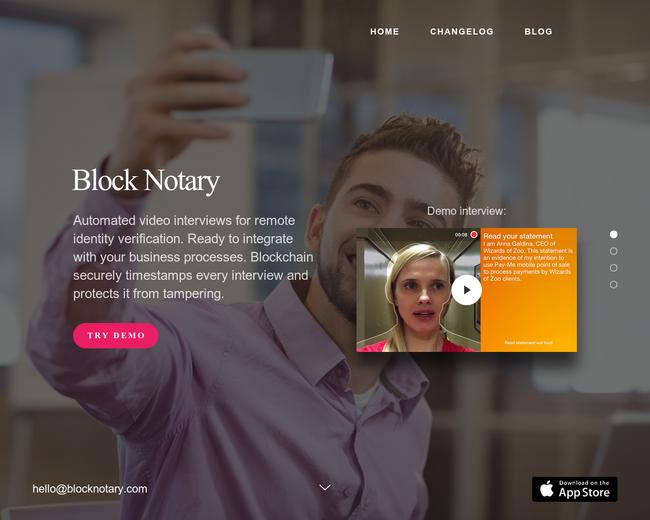 Block Notary