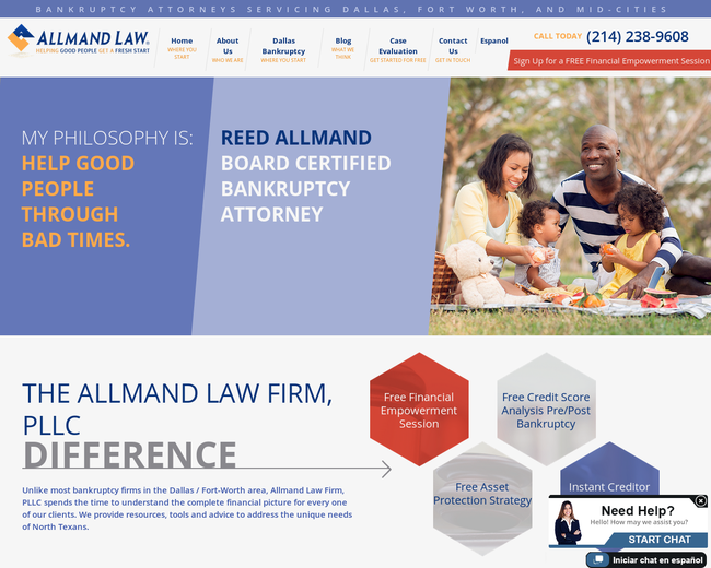 Allmand Law Firm P