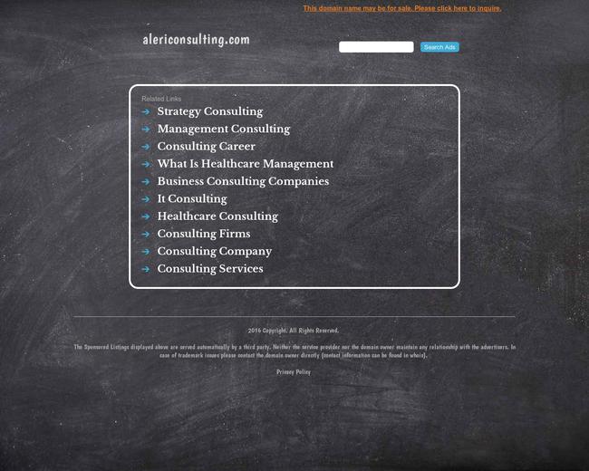 Aleri Consulting Group