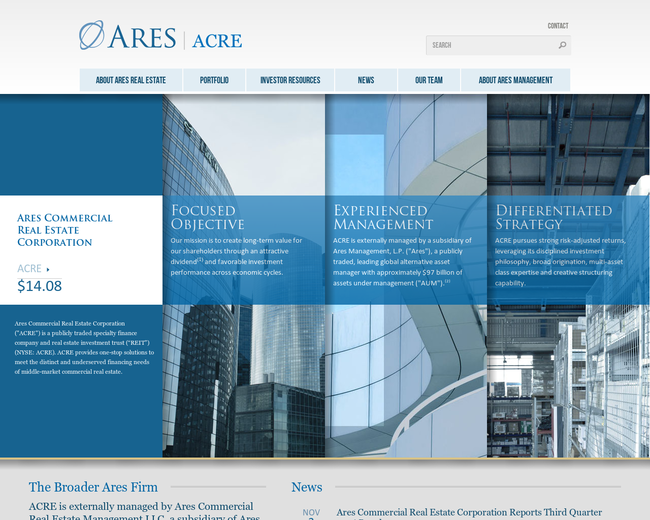 Ares Commercial Real Estate