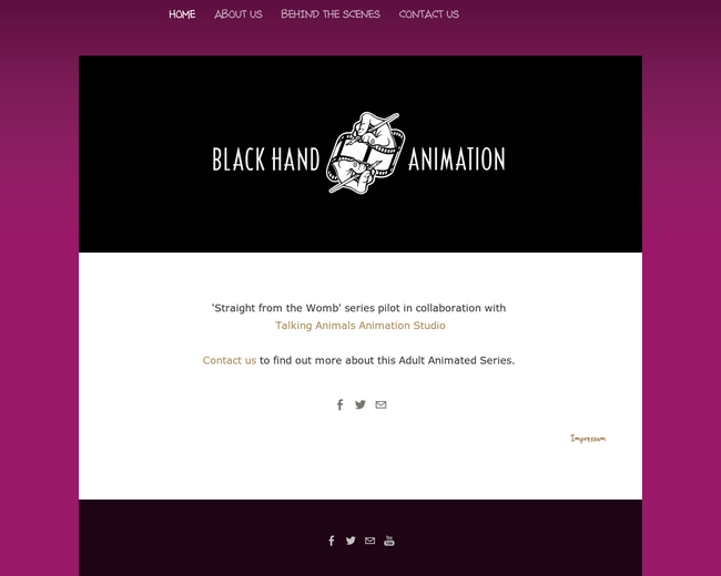 Black Hand Animtion