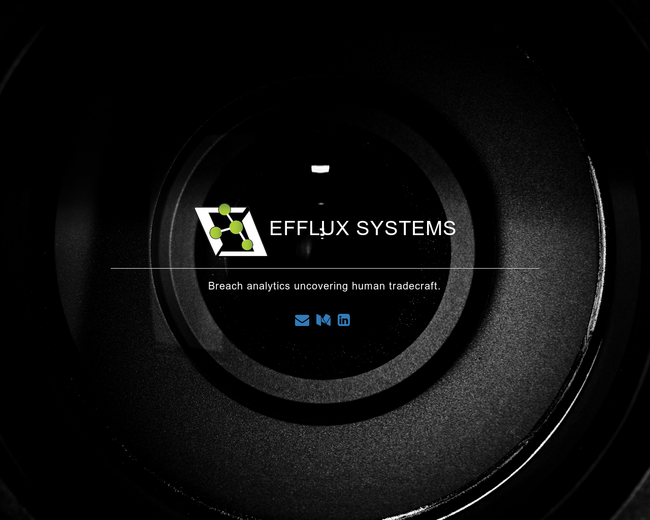 Efflux Systems