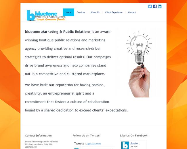 Bluetone Marketing & Public Relations