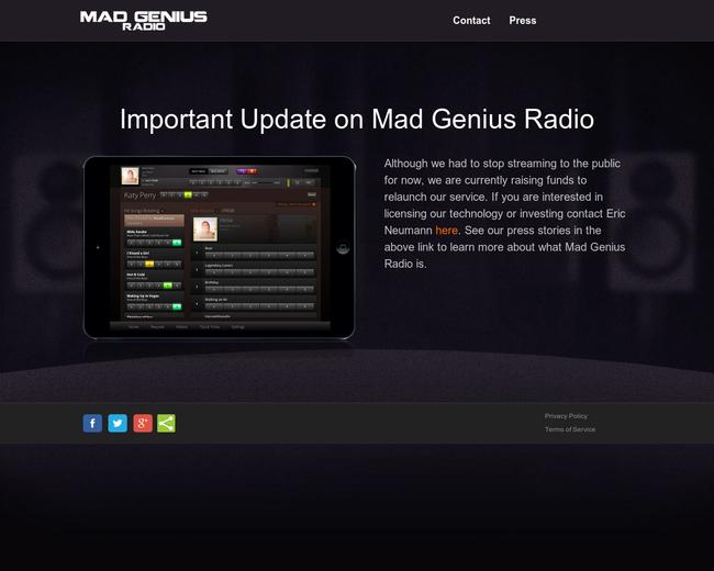 Mad Genius Radio
