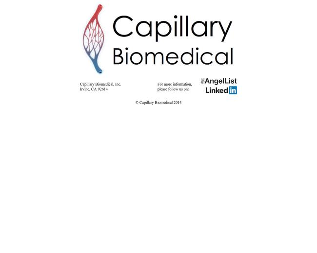 Capillary Biomedical