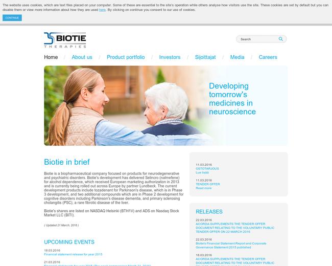 Biotie Therapies