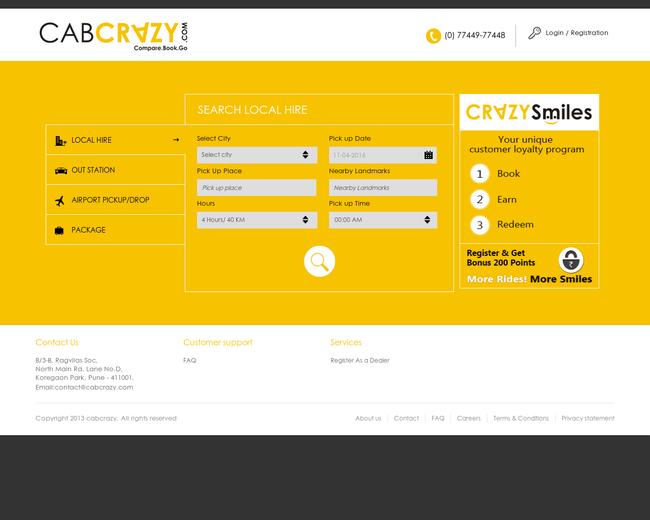 Cabcrazy.com
