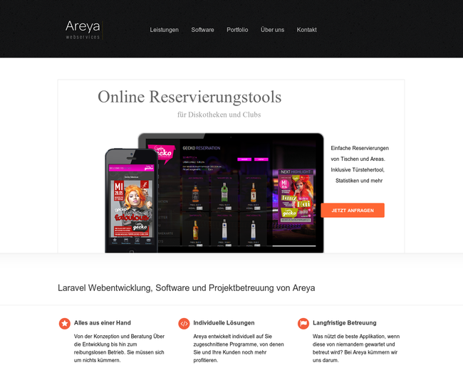 Areya Webservices