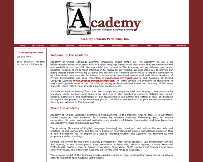 Academy Franchise Partnership