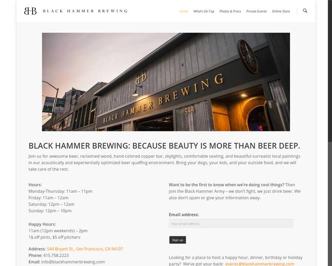 Black Hammer Brewing