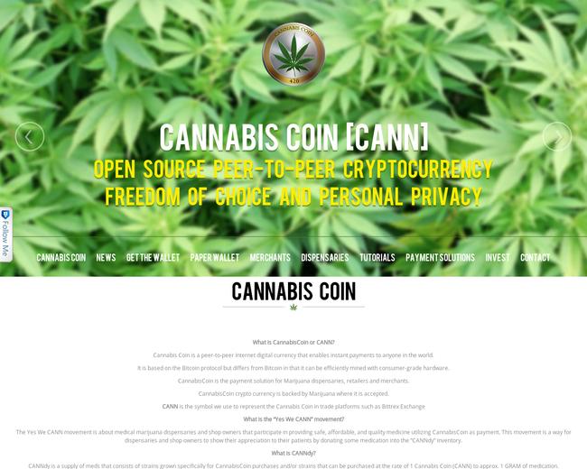 Cannabis Coin