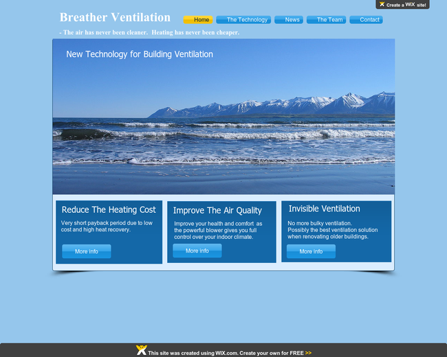 Breather Ventilation