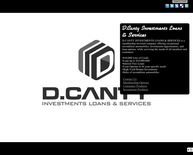 D.Canty Investments Loans & Services