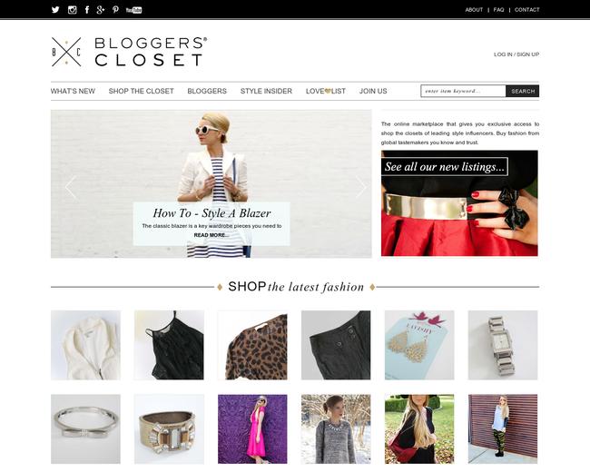 Bloggers Closet