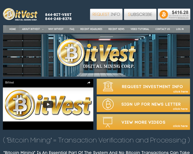 Bitvest Digital Mining