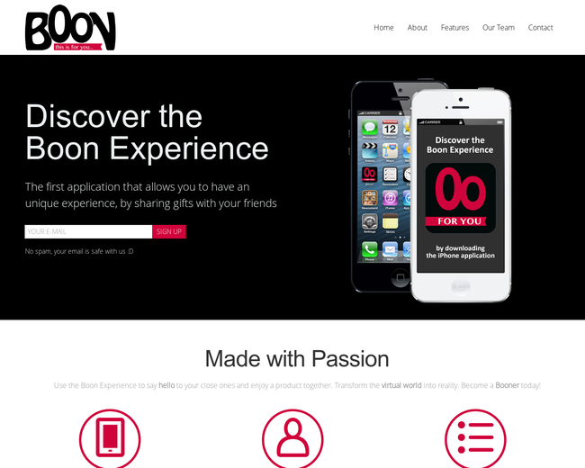 Boon Experience