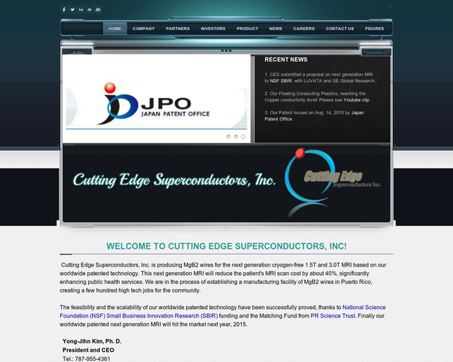 Cutting Edge Superconductors