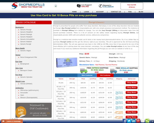 Buy Provigil | Order Provigil Online