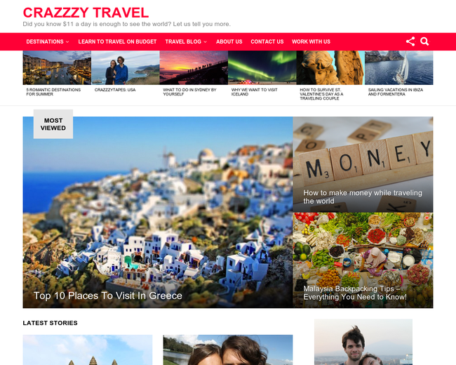 Crazzzy Travel