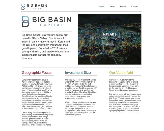 Big Basin Capital