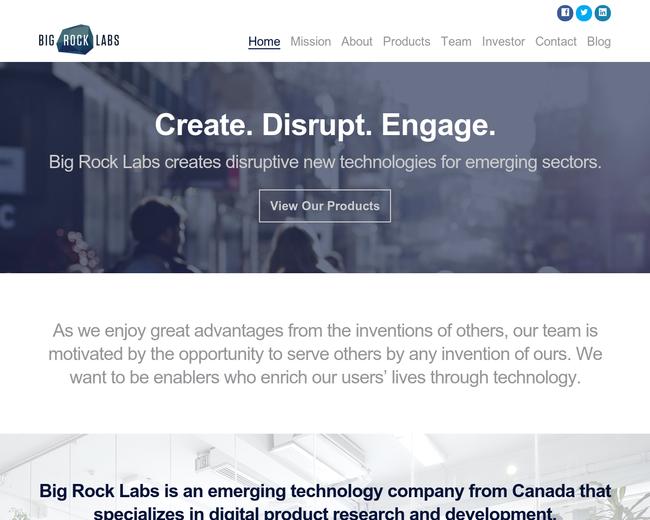 Big Rock Labs