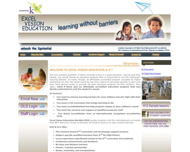 Edru/Excel Vision Education on Iterate Studio