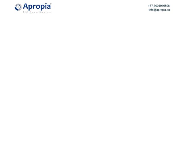 APROPIA OPEN SOURCE S.A.S