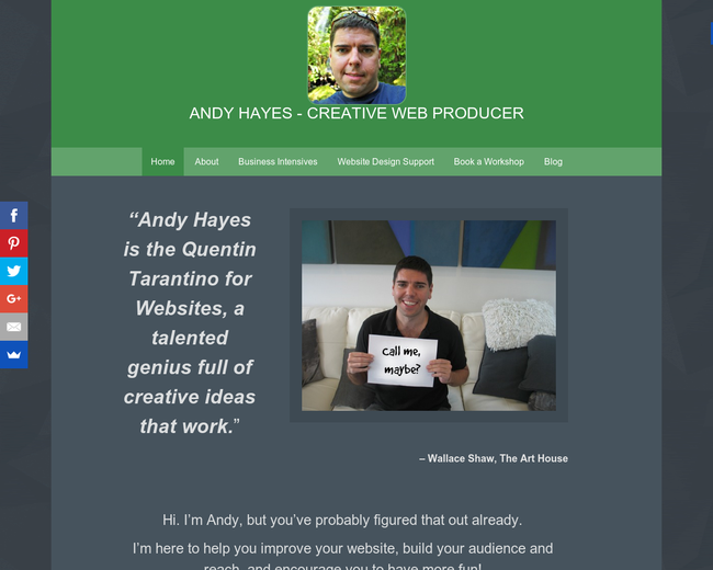 Andy Hayes Oregon | Web Developer