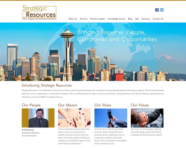 Strategic Resources