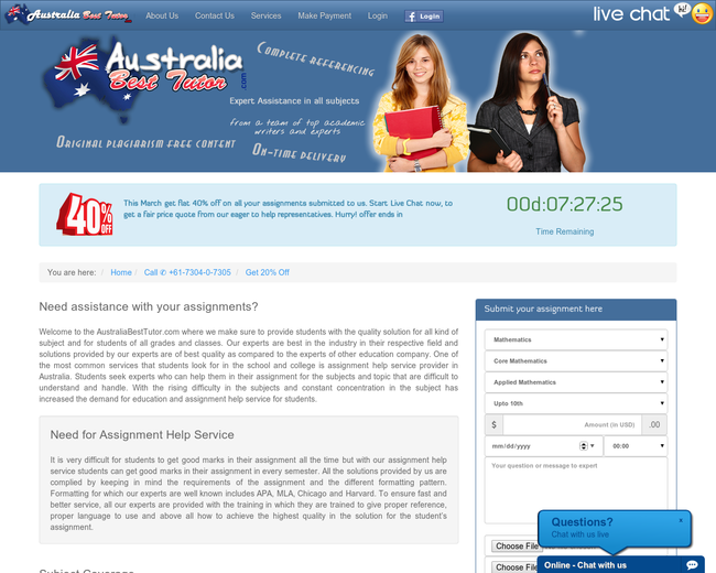 Australia Best Tutor