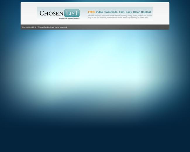 ChosenList.com