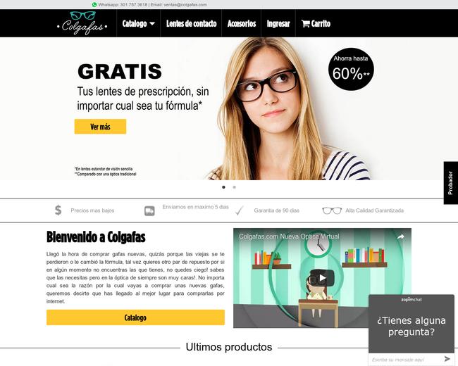 Colgafas - Colombiana de Gafas SAS