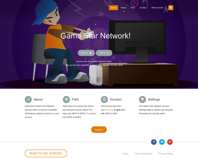 Gamestar network