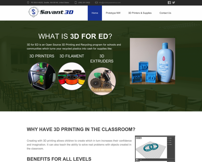 3D for EDucation