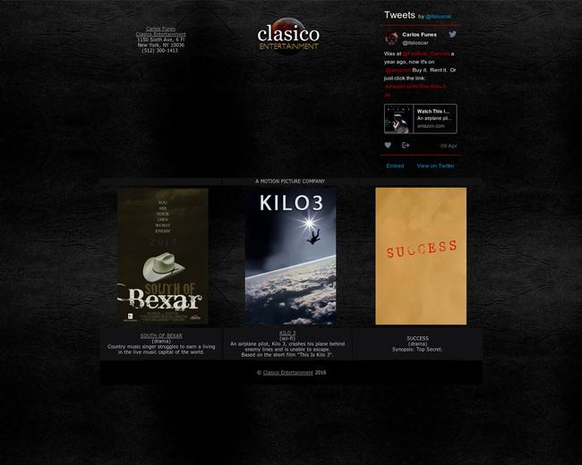 Clasico Entertainment