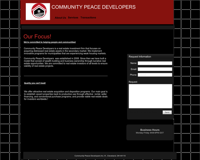 Community Peace Developers