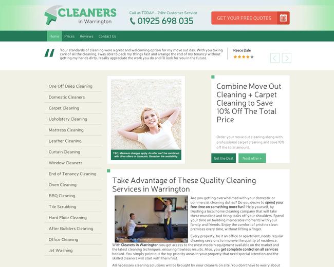 Cleaners Warrington
