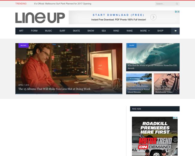 Line Up Media