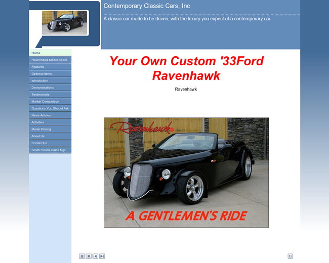 Contemporary Classic Cars