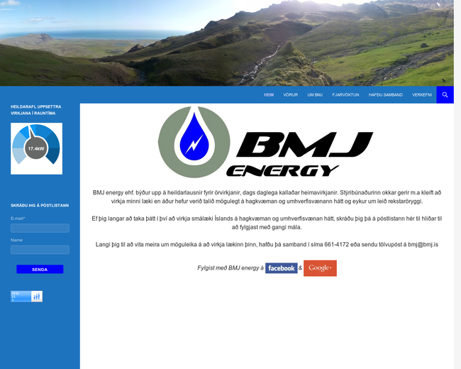 BMJ energy ehf.
